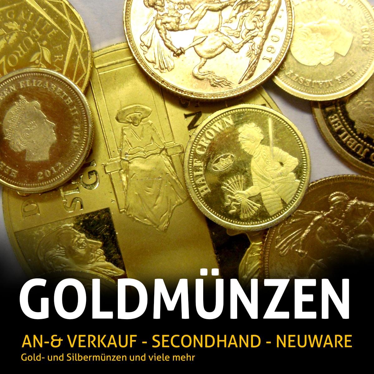 An- und Verkauf von Gold- und Silbermünzen