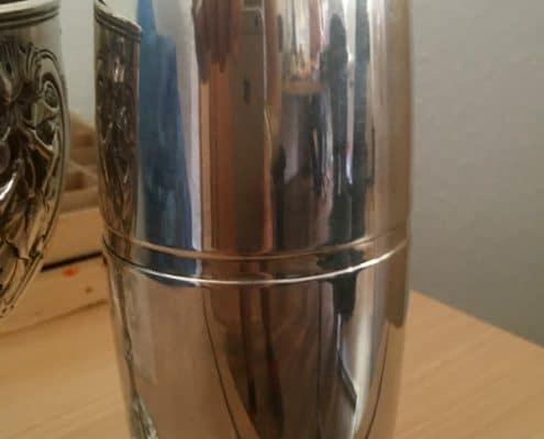 Goldankauf Trier - Cocktail-Shaker, 830-Silber, Rarität!