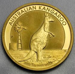 goldankauf.com.de - Goldmünze Australian Kangaroo 2002.