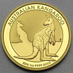 goldankauf.com.de - Goldmünze Australian Kangaroo 2016.