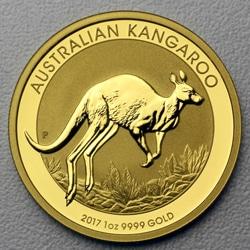 goldankauf.com.de - Goldmünze Australian Kangaroo 2017.