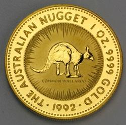goldankauf.com.de - Goldmünze Australian Nugget 1992.