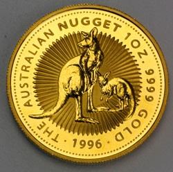 goldankauf.com.de - Goldmünze Australian Nugget 1996.