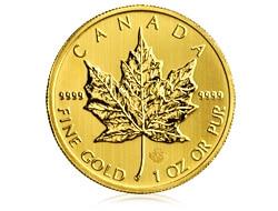 goldankauf.com.de - Goldmünze Maple Leaf
