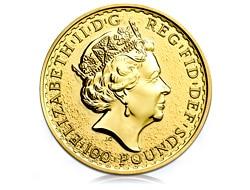goldankauf.com.de - Goldmünze Britannia.