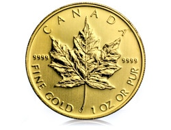 goldankauf.com.de - Goldmünze Maple Leaf.