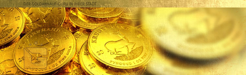 goldankauf.com.de - Headerbild für Goldmünzenankauf Krügerrand