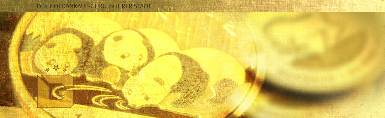 goldankauf.com.de - Headerbild für Goldmünzenankauf Pandagold.