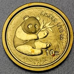 goldankauf.com.de - Goldmünze Panda 2000.