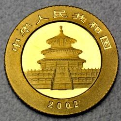 goldankauf.com.de - Goldmünze Panda 2002.
