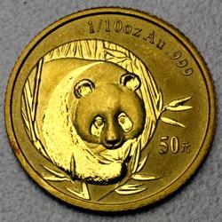 goldankauf.com.de - Goldmünze Panda 2003.