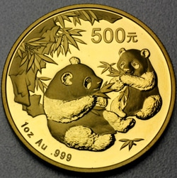 goldankauf.com.de - Goldmünze Panda 2006.