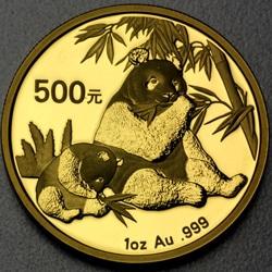 goldankauf.com.de - Goldmünze Panda 2007.