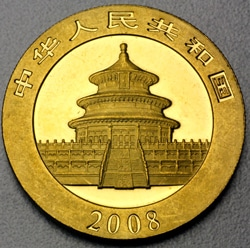 goldankauf.com.de - Goldmünze Panda 2008.