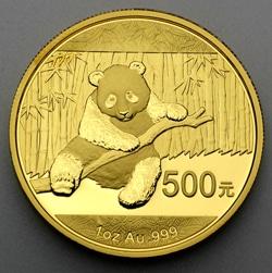 goldankauf.com.de - Goldmünze Panda 2014.