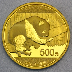 goldankauf.com.de - Goldmünze Panda 2016.