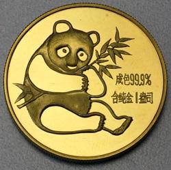 goldankauf.com.de - Goldmünze Panda 1982.