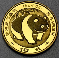goldankauf.com.de - Goldmünze Panda 1983.