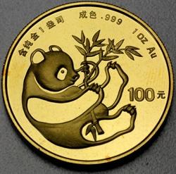 goldankauf.com.de - Goldmünze Panda 1984.