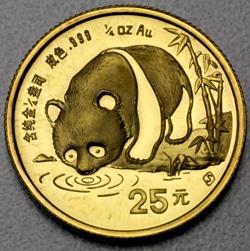 goldankauf.com.de - Goldmünze Panda 1987.