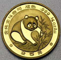 goldankauf.com.de - Goldmünze Panda 1988.