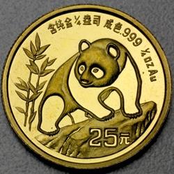goldankauf.com.de - Goldmünze Panda 1990.