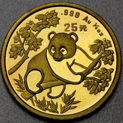 goldankauf.com.de - Goldmünze Panda 1992.