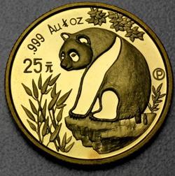 goldankauf.com.de - Goldmünze Panda 1993.