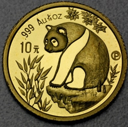 goldankauf.com.de - Goldmünze Panda 1998.