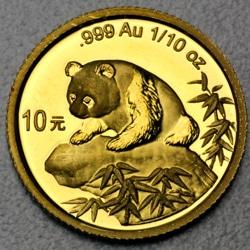 goldankauf.com.de - Goldmünze Panda 1999.