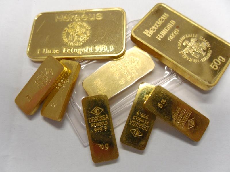 www.goldankauf.de - Wir kaufen Goldbarren und Tafelbarren.