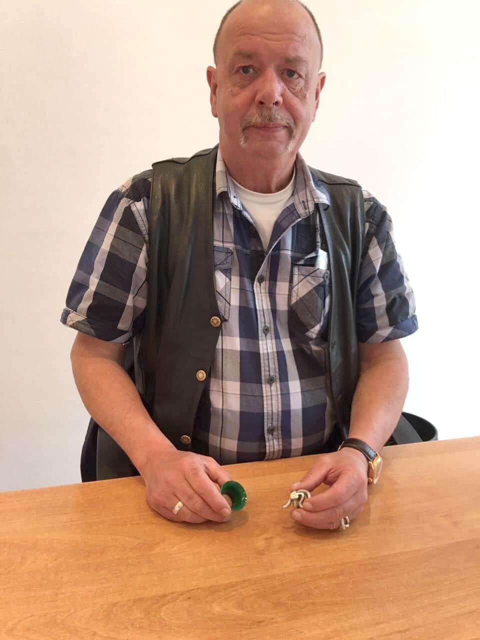Filialleiter Herr Fehnske - Flensburger Goldankauf